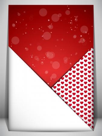 Vector - Valentine Day Heart Letter Love Stock Vector - 17302919