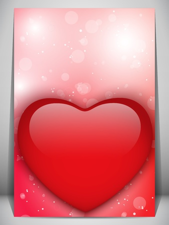 Vector - Valentine Day Heart Letter Love Stock Vector - 17303049