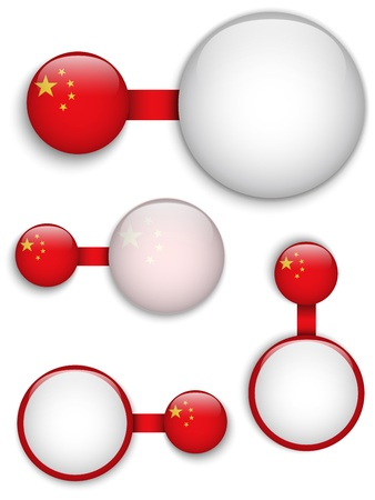 Vector - China Country Set of Banners Vector