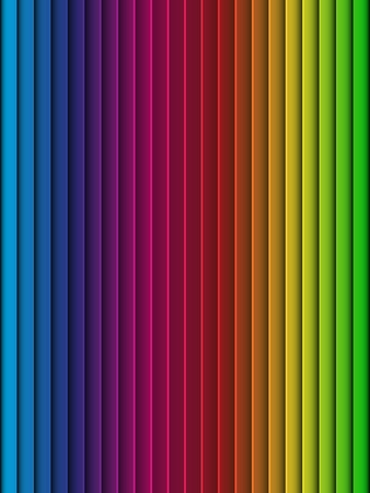 Rainbow Background Seamless Colorful Stripe Vector