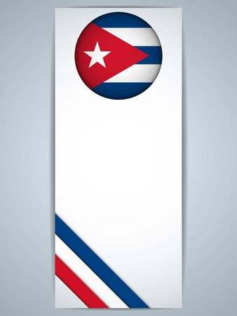 cuban: Vector - Cuba Country Set of Banners