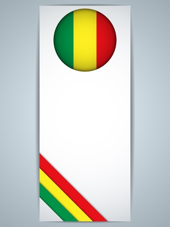 Vector - Mali Country Set of Banners Vector