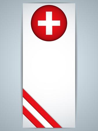 Vector - Switzerland Country Set of Banners Stock Vector - 22067695