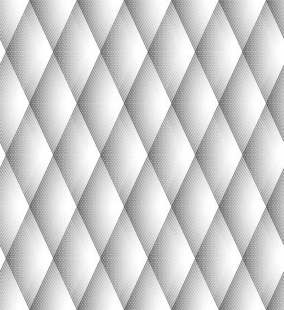 lineas blancas: Seamless patr�n del diamante Negro y l�neas blancas Vectores