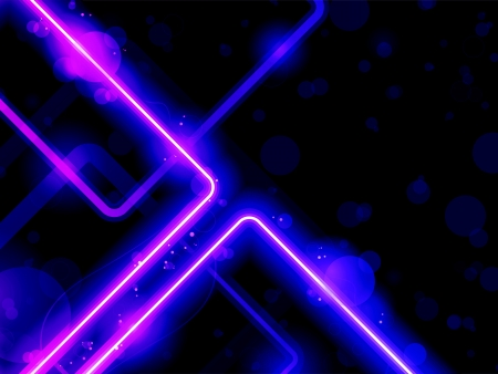 Vector - Blue Purple  Lines Background Neon Laser Vector