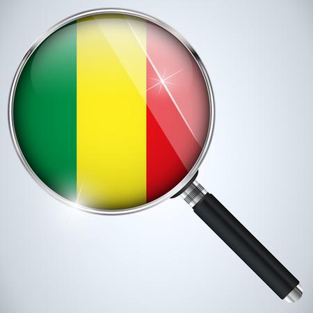 mali: Vector - NSA USA Government Spy Program Country Mali