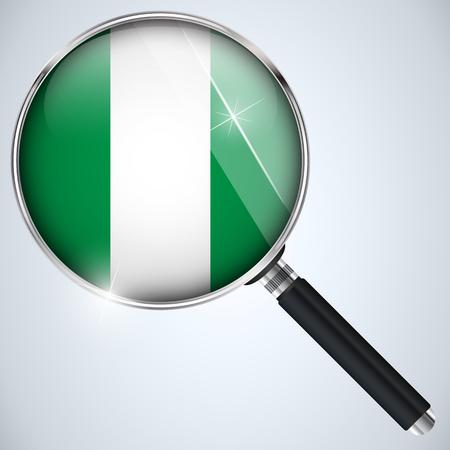 Vector - NSA USA Government Spy Program Country Nigeria Vector