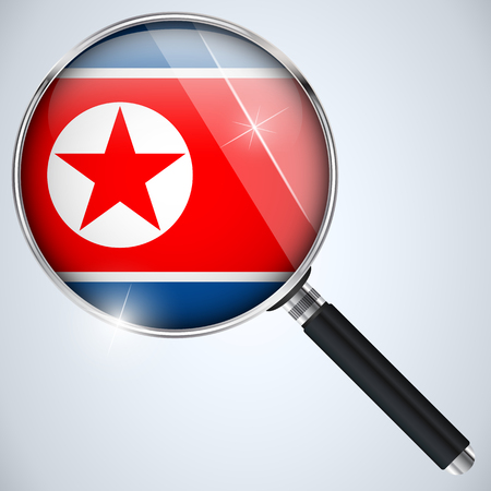 Vector - NSA USA Government Spy Program Country North Korea Vector
