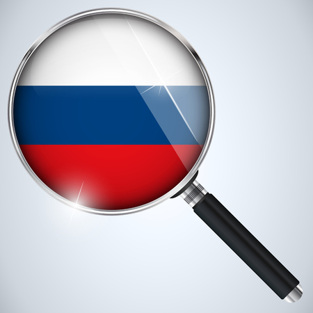 Vector - NSA USA Government Spy Program Country Russia Vector