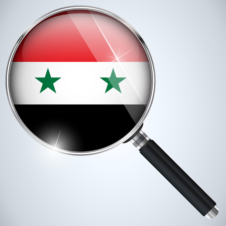 Vector - NSA USA Government Spy Program Country Syria Vector