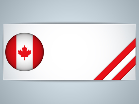 Vector - Canada Country Set of Banners Stock Vector - 24526588
