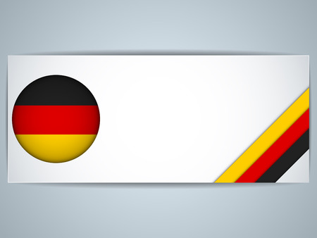 Vector - Germany Country Set of Banners Vector