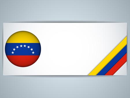 venezuelan: Vector - Venezuela Pa�s Conjunto de Banners