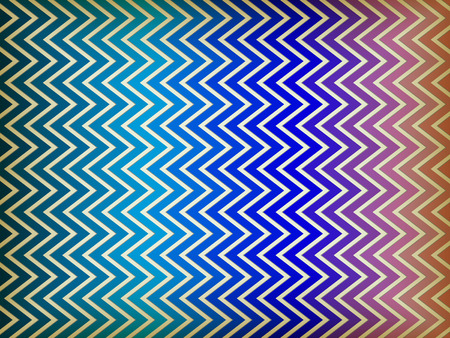 Vector - Colorful Zig Zag Background Vector