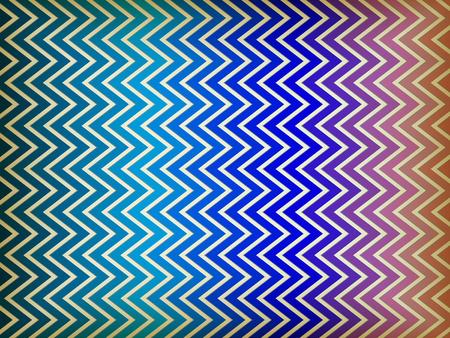 Vector - Colorful Zig Zag Background Vector