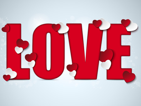 i love you: Vector - Valentine Day I Love you Heart