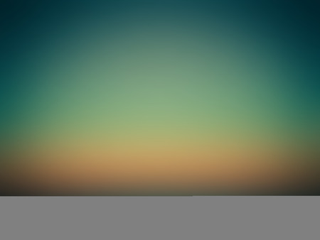 blue and green: Vector Beautiful Colorful Gradient Blue Green Orange Illustration