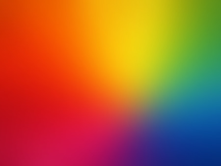 vibrant colours: Vector Gay rainbow gradient mesh blur background Illustration