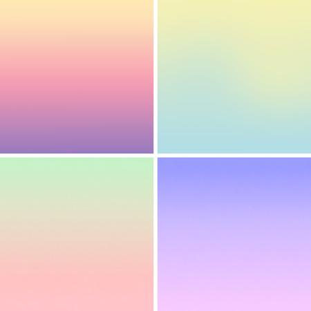 Vecteur - floues filet de dégradé de couleurs de fond pastel