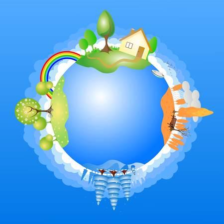 Země Ilustrace