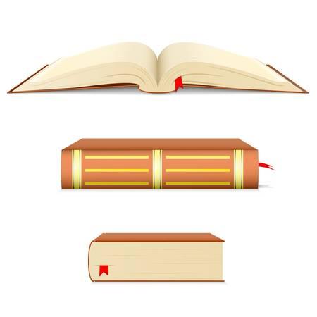 copertina libro antico: libro Vettoriali