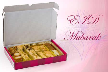 Eid Mubarak Standard-Bild - 30547435