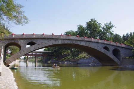Anji Bridges in Shijiazhuang, Hebei, China