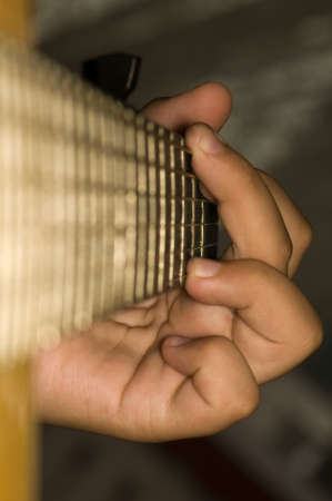 Acoustic Guitar - Chord G-dur photo