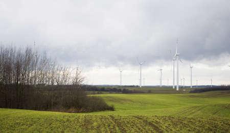 wind farm: Parque e?lico