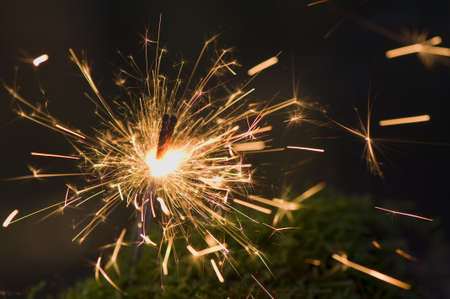 Sparkler Stock Photo - 11755356