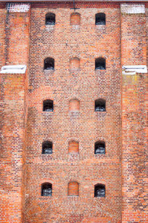 teutonic: Teutonic castle wall Stock Photo