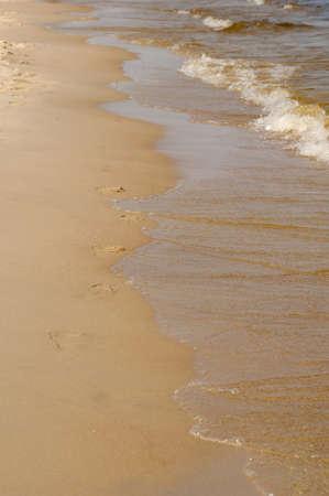 Baltic sea Tracks Stock Photo - 20855294