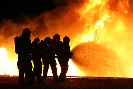 Firefighting trainging