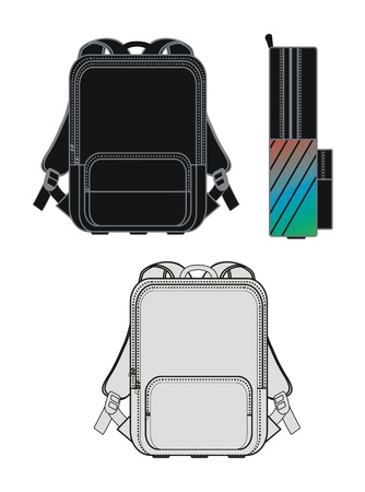 bag set theme all Illustration