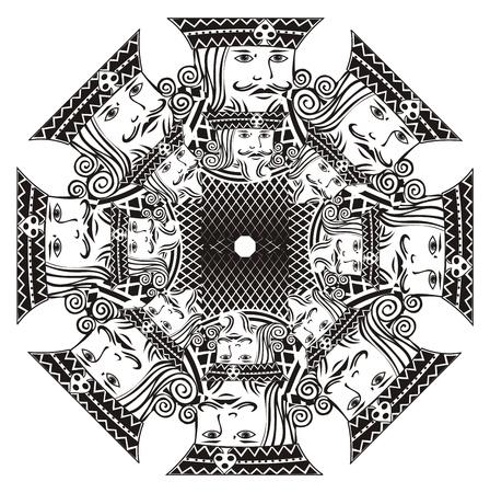king pattern
