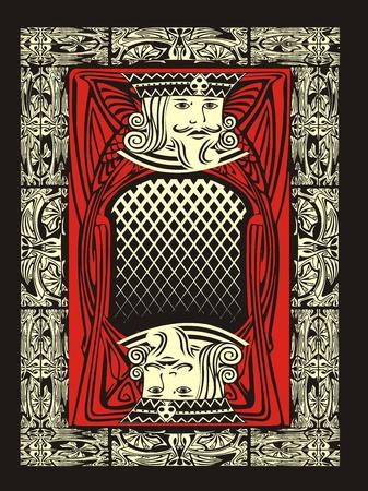 red king Illustration