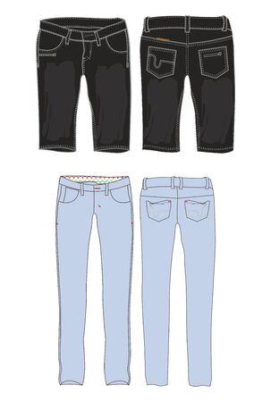 pants apparel Illustration