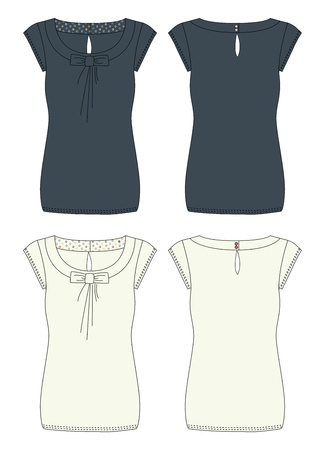 apparel dress zipper Vector