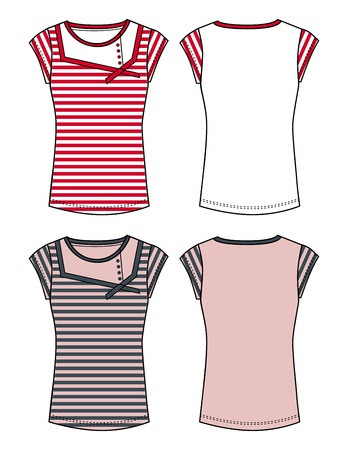 apparel dress red Vector