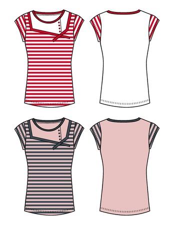 tee shirt template: apparel dress red