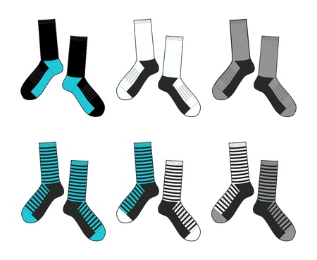 socks set Illustration