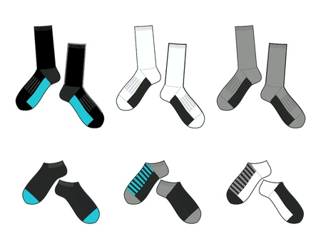 socks template
