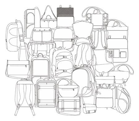 empacar: todos mochila