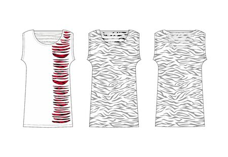 apparel set zebra