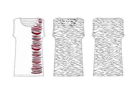 apparel set zebra