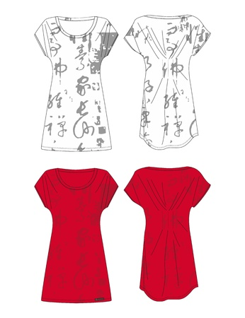 apparel set oriental