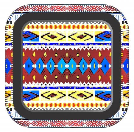 native art box Illustration