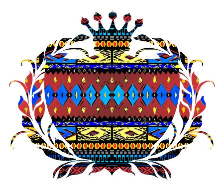 native art label