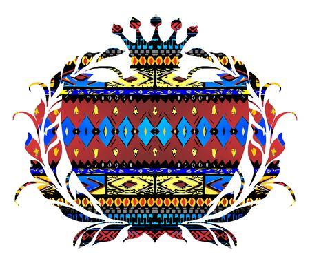 native art label