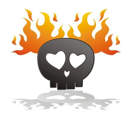 cr�neo en llamas